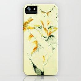 Fading Fox iPhone Case