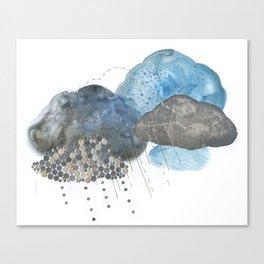 Melting Snow Canvas Print