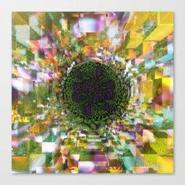 Plier - Multiplied views P of Alphabet collection Canvas Print