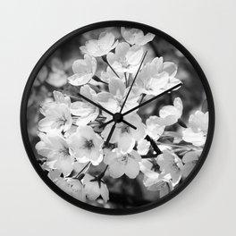 Sakura Prunus serrulata Wall Clock