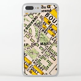 All About Paris Clear iPhone Case