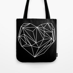 Heart Graphic (Black) Tote Bag