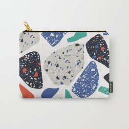 Abstract stones pattern Carry-All Pouch