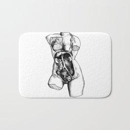 De Humani Corporis Fabrica - Torso Bath Mat