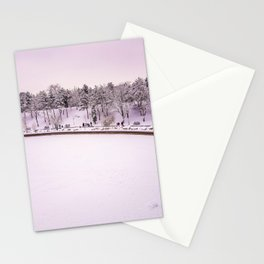 Winter in Bucharest Stationery Cards