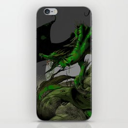Dungeons, Dice and Dragons, Green Dragon iPhone Skin