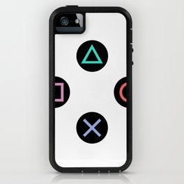 Play with Playstation Controller Buttons iPhone Case