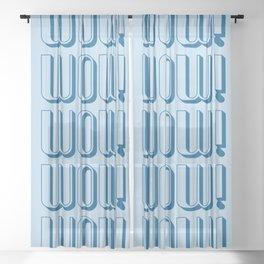 WOW! Sheer Curtain