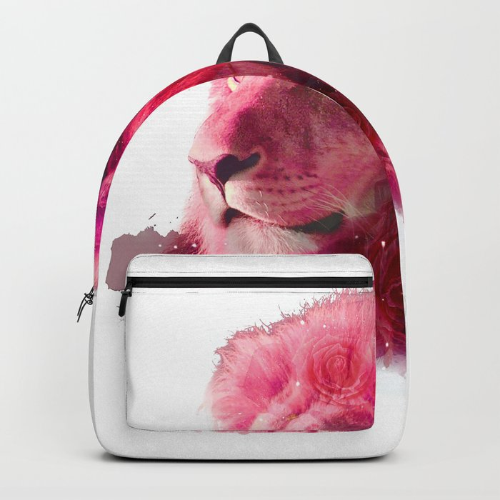 Rose Lion Backpack