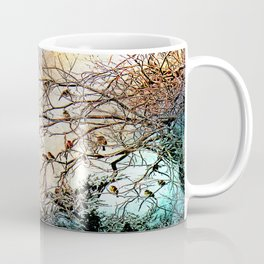 Out On A Limb Jewel Tones Coffee Mug