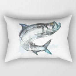 Tarpon Fish Rectangular Pillow