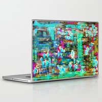boyfriend Laptop & iPad Skins featuring BOYFRIEND SWEATS -2- by Glint & Lime Art