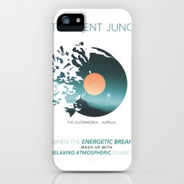 INTELLIGENT JUNGLE v2 iPhone Case