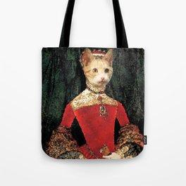 Royalty cat Tote Bag