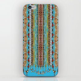 Beauty and the Beads iPhone Skin