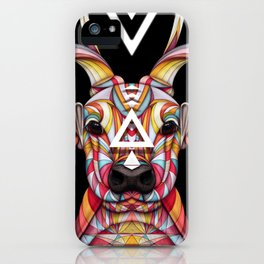 """""""OH Deer"""" by Giulio Rossi iPhone Case"""