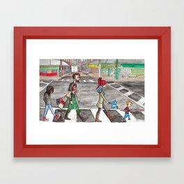 Aspie Road Framed Art Print