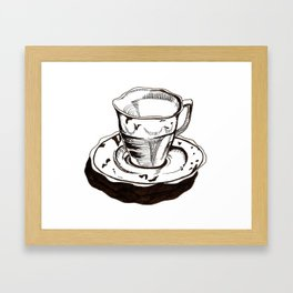 Teacup 1 Framed Art Print