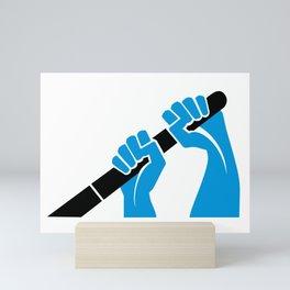 Rowing Hands 1 Mini Art Print