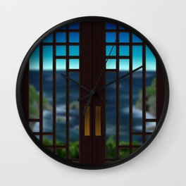 Going Out Your Door Wall Clock