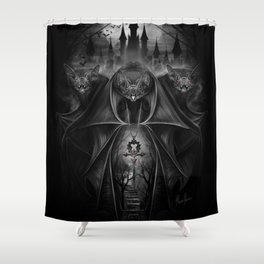 Fiends Shower Curtain