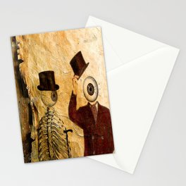 Bonjour Monsieur Bone ! Stationery Cards