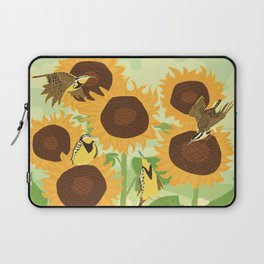 Sunbathing Meadowlarks Laptop Sleeve