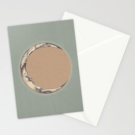 Waning Crescent Stationery Cards