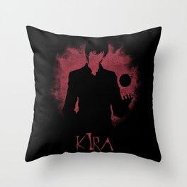 I Am Justice! Kira Throw Pillow