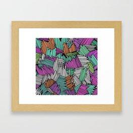 Happy Abstract Nr:04 Framed Art Print