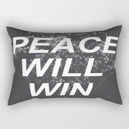 peace will win -- dark flowers -- dark grid -- twenty one pilots Rectangular Pillow