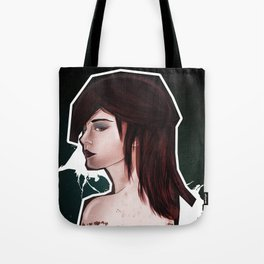 The girl with the rad hair Tote Bag