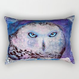 Ole Blue Eyes Rectangular Pillow