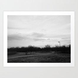 Cravens Park Art Print