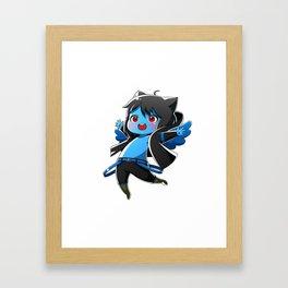 Chibi Luc (Expression 1) Framed Art Print