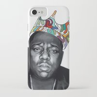 notorious big iPhone & iPod Cases featuring Notorious by Jared Yamahata