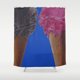 Ice Scream Shower Curtain