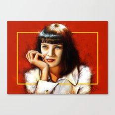 Mia Thurman Canvas Print