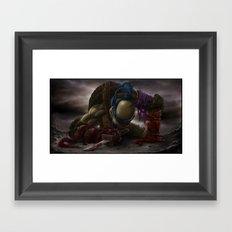 LEONARDO goodbye, my brothers... Framed Art Print