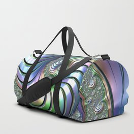 Colorful Spiral Duffle Bag