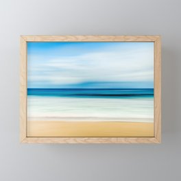 Beautiful Beach View Framed Mini Art Print