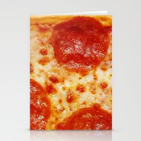 pizza Stationery Cards featuring PIZZA by @thecultureofme