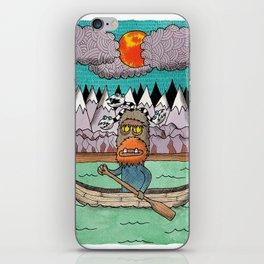 Beast Canoe iPhone Skin