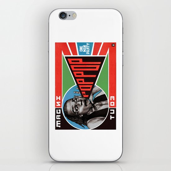 One Man Party iPhone & iPod Skin