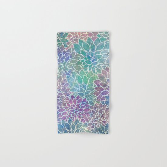 Floral Abstract 9 Hand & Bath Towel