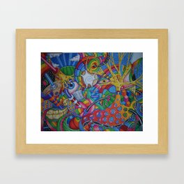 7734 Framed Art Print