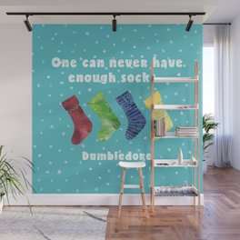 One can never have enough socks. Dumbledore Wall Mural