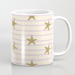 Pink Lines Coffee Mug