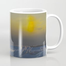 Manistique Lighthouse Sun Dog Coffee Mug
