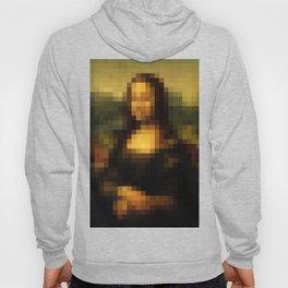 Mona Lisa Pixelated Hoody